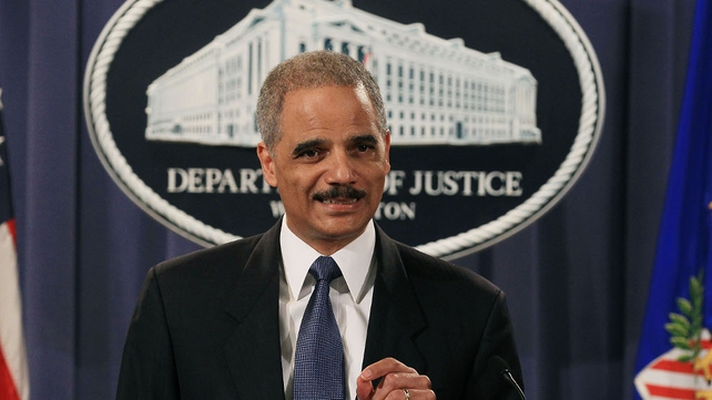 US Attorney General - Eric Holder