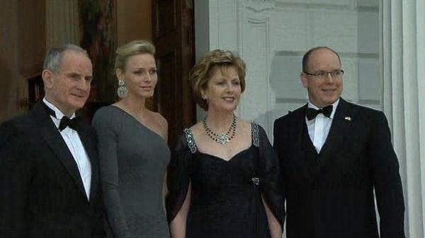 Prince of Monaco - Attends State dinner at Áras an Uachtaráin