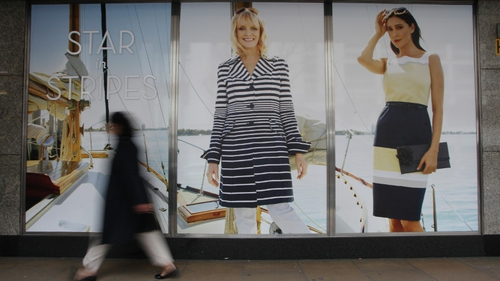 M&S clothing sales down 1.6% in its first fiscal quarter