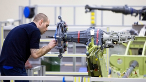 German industrial output rose 0.3% on the month, new figures show today