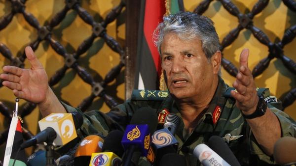 Abdel Fatah Younes - Libyan rebel leader shot dead