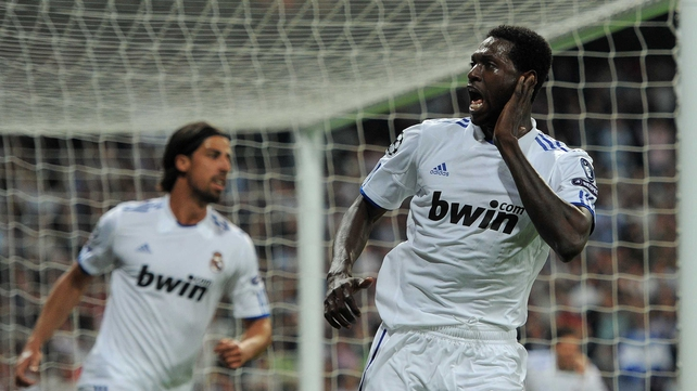 Emmanuel Adebayor - The target of abuse for Tottenham fans