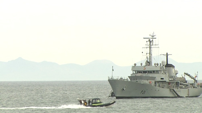 The LE Emer was involved in the search