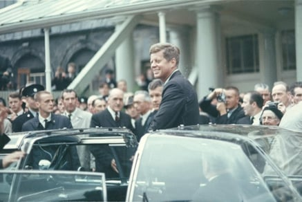 JFK Visits Ireland in 1963