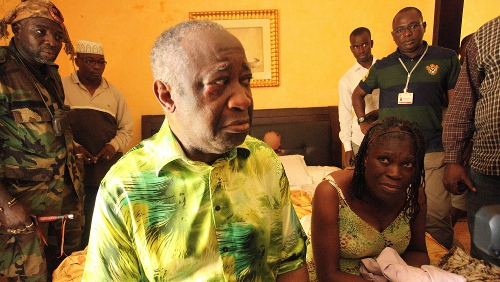 Laurent Gbagbo - Captured on Monday