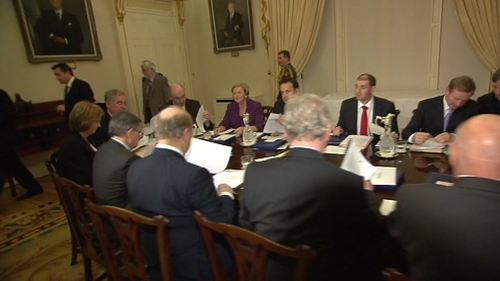 Cabinet - Final meeting before the break