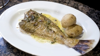 Megrim on the Bone with Anchovy and Dill Butter - Another delicious fish dish from Martin Shanahan.