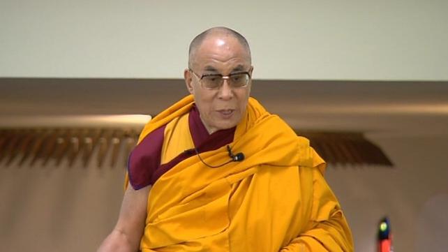 Dalai Lama - Second day of visit to Ireland