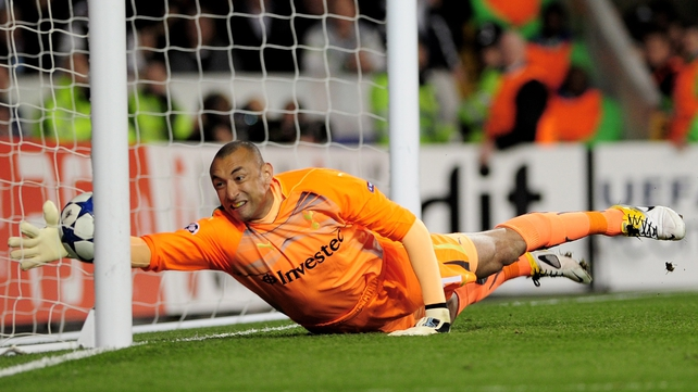 Heurelho Gomes' contract ends next month