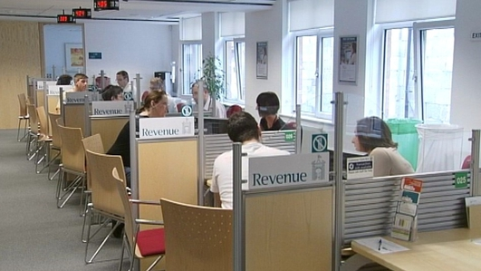 Furniture disappearing from Tax Office
