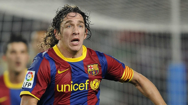 Carles Puyol - Was on the mark for Barca