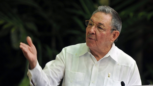 Raul Castro - First Communist Party conference in 14 years