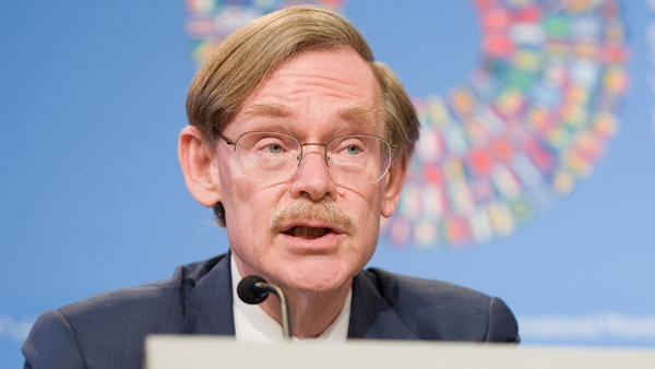 Robert Zoellick - Warns of serious problems in the euro zone