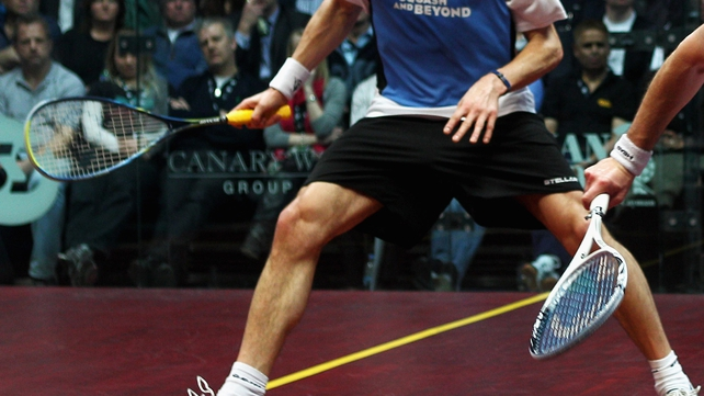 Gaskin falls at Irish Squash Open