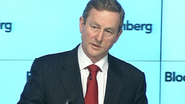 Enda Kenny - Urges audience to think about Ireland's future