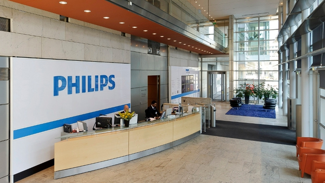 Philips reported a net profit of €243m in its second quarter