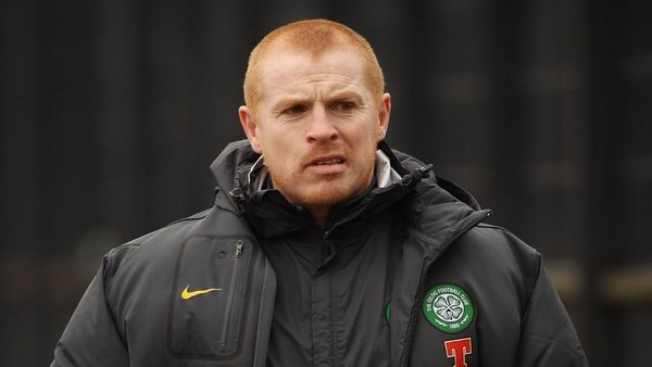 Wilson had been cleared of a pitchside assault on Neil Lennon (pictured)