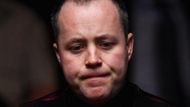 John Higgins has not won since his victory at the Crucible Theatre in 2011