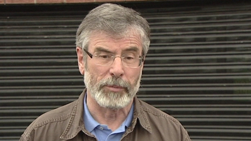 Gerry Adams - Party understood the importance of addressing the concerns of unionists