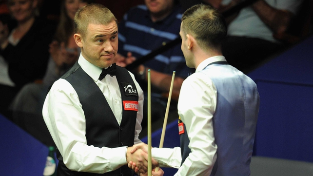 Stephen Hendry - Scot had no answer to Mark Selby's record breaking six centuries during the first two sessions