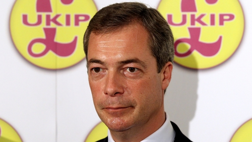 "UKIP leader, Nigel Farage hailed a ""remarkable"" night for his party"