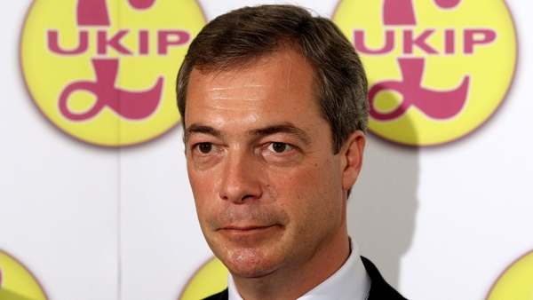 UKIP leader Nigel Farage claimed only his wife was suited to the job of being his assistant