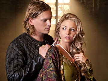 Camelot - Tamsin Egerton as Guinevere and Jamie Campbell Bower