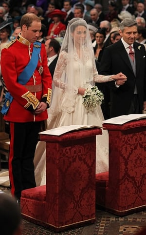 William, Kate and Michael