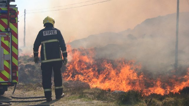 Donegal - Ongoing efforts to tackle fires