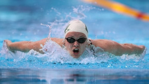 Gráinne Murphy - Recently secured spot in 800m freestyle at London 2012