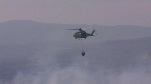 AW139 helicopters are used for tasks such as forest firefighting