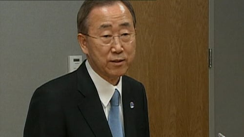Ban Ki-Moon - Death is a 'watershed'