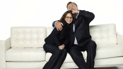 Fey with co-star Alec Baldwin
