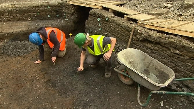 Archaeological dig expected to last six weeks
