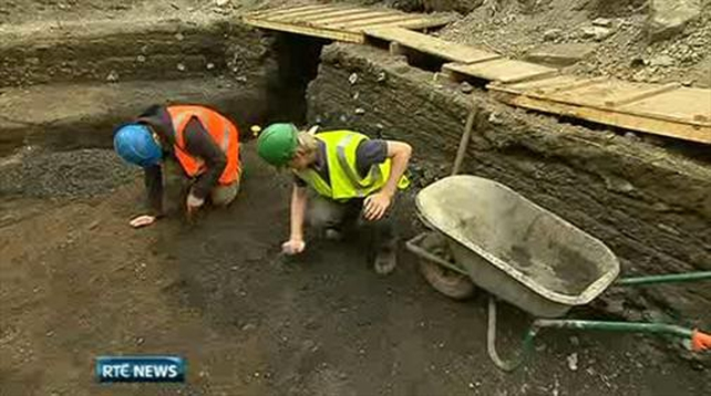 One News: Temple Bar excavations reveal past secrets