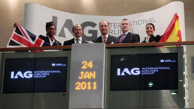 IAG raises its profit targets for 2015
