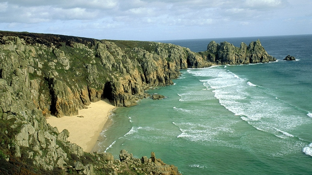 Logan Rock in Cornwall - a must see