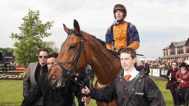 Tom Doyle racked up a hat-trick of big-priced Grade One wins on Follow The Plan