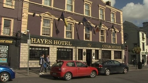 Hayes Hotel - Graham Parish found dead in June 2008