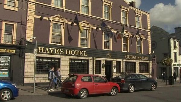 Hayes Hotel - Graham Parish found dead in June 2008