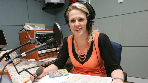 Jacqui Hurley is broadcasting for RTÉ for the duration of London 2012