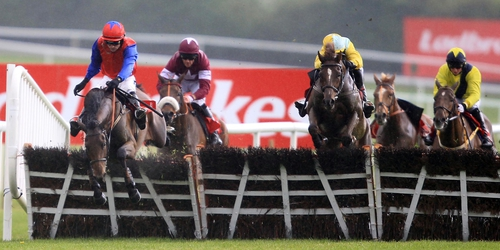 Quevega recovered superbly from a blunder at the last to score another big-race success