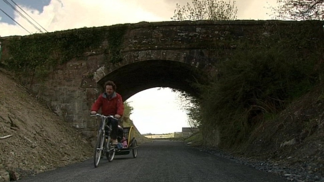 Mayo - Trail uses part of former Newport to Mulranny railway line