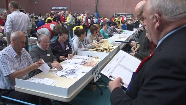 Northern Ireland - Count continuing