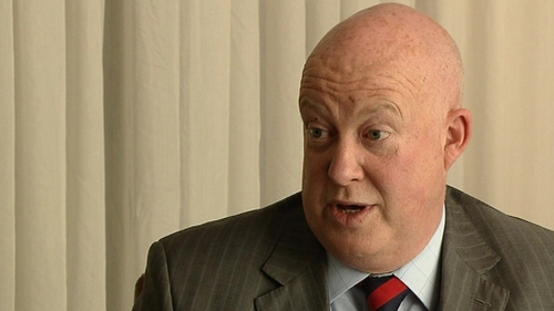 Brian Purcell was questioned about criticisms contained in the Guerin Report