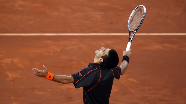 Novak Djokovic - remains unbeaten in 2011 after beating Rafa Nadal in the final of the Madrid Open