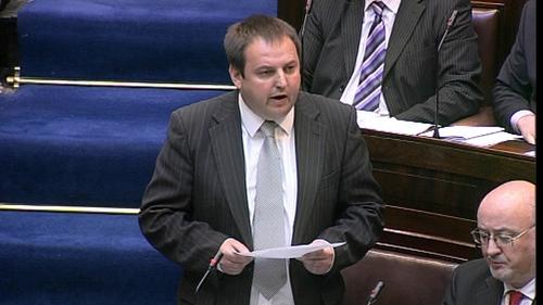 Pádraig Mac Lochlainn also criticised so-called 'kangaroo courts'