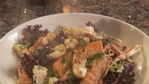 Martin Shanahan's Warm Chilli Seafood Salad