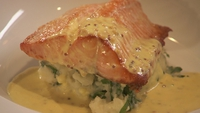Sea Trout and Colcannon - If you like sauces, this is a recipe for you.