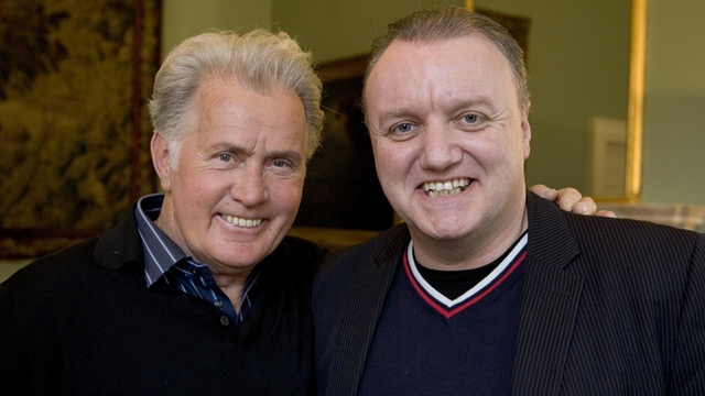 Martin Sheen with Michael Doherty